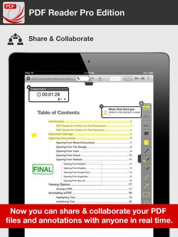 PDF Reader Pro Edition for iPad-02