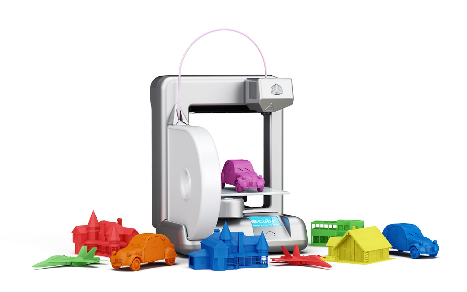 3DSystems Cube Personal 3D Printer (2nd Gen) in Silver: $1000 shipped (Reg. $1300)