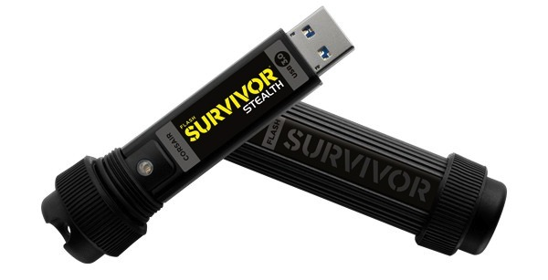 Corsair-Flash Survivor Stealth-USB 3.0-Flash Drive-sale-01