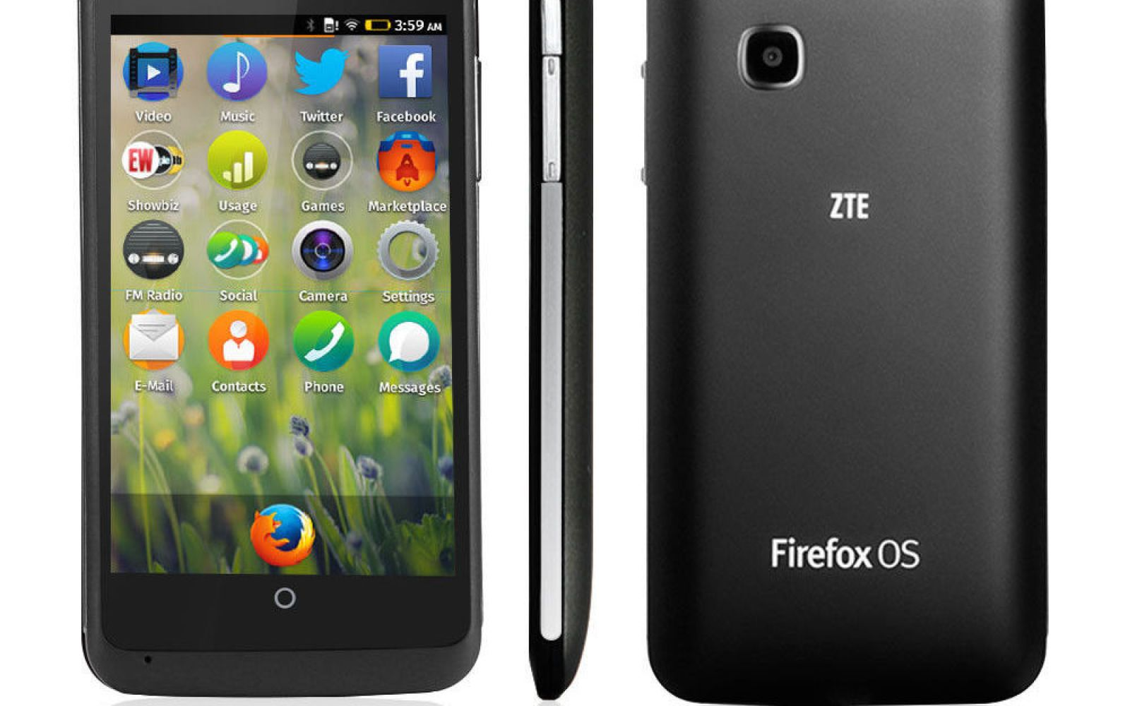 ZTE is selling the Firefox OS phone direct via Ebay for $100 shipped
