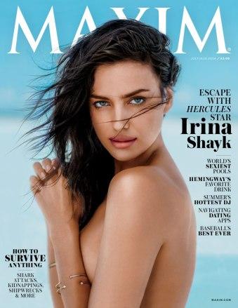 Maxim July 2014