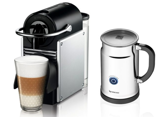 Nespresso Pixie Espresso Maker With Aeroccino Plus Milk Frother (aluminum)-sale-01