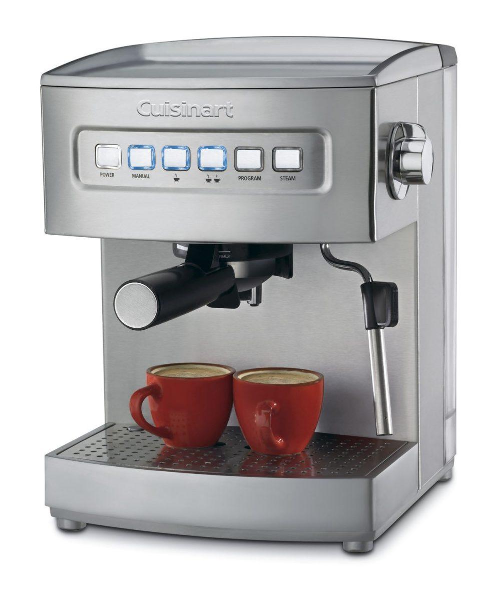 Stainless Steel Cuisinart EM-200 Programmable 15-Bar Espresso Maker-sale-01