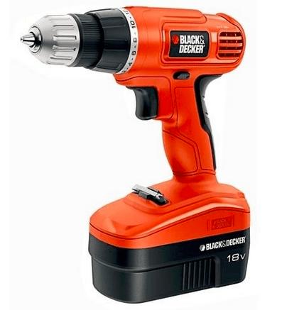 Black & Decker 18V Cordless Drill:Drive w: 10 Accessories-sale-01