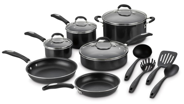 Cuisinart 14-Piece Aluminum Non-Stick Cookware Set with 4 Gadgets-sale-01