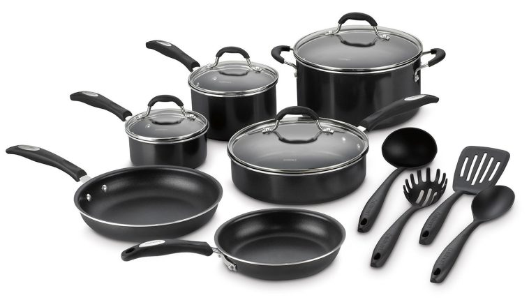 Cuisinart 14-Piece Aluminum Non-Stick Cookware Set with 4 Gadgets-sale-01