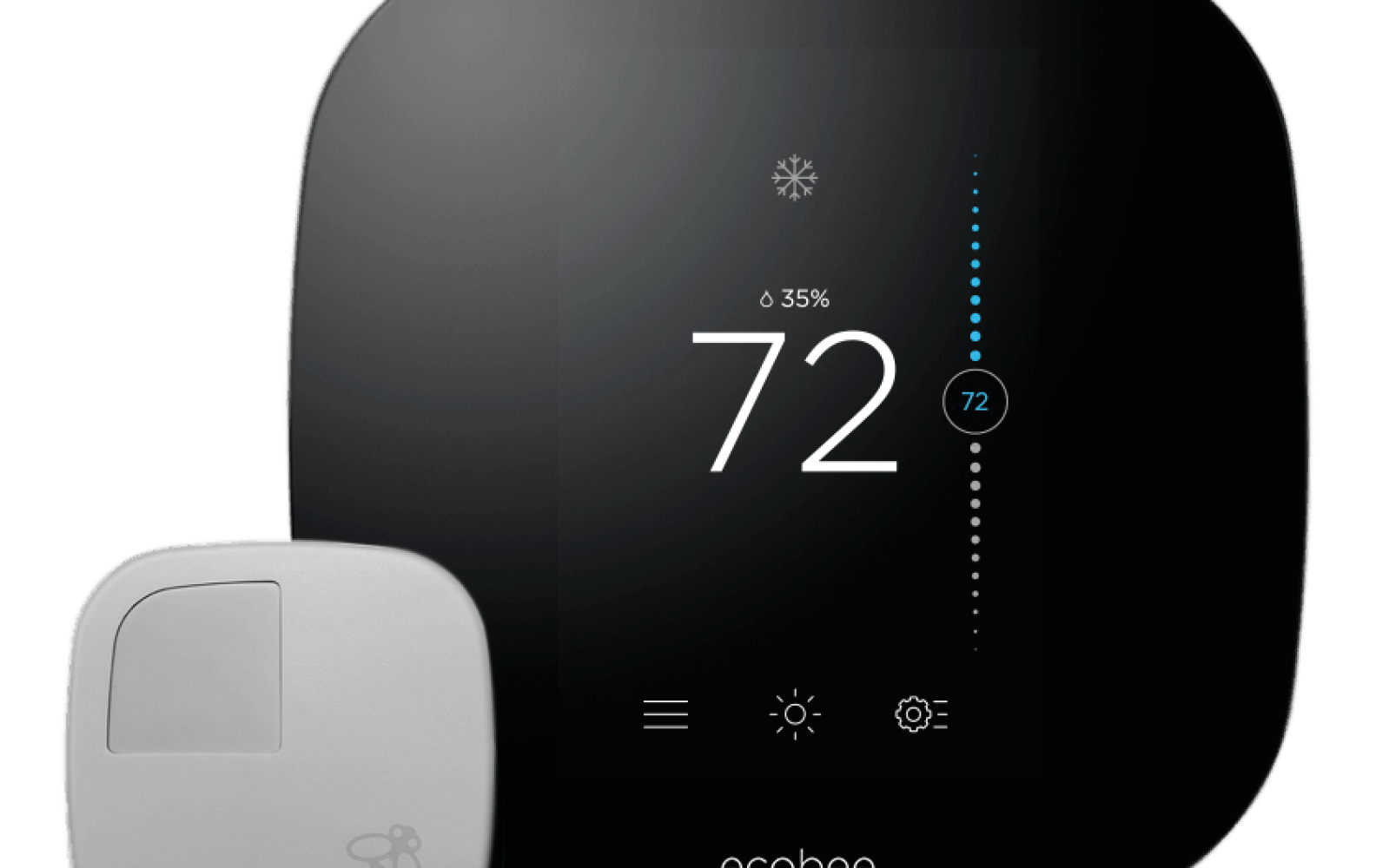 ecobee's new smart thermostat and remote sensors offer complete home coverage