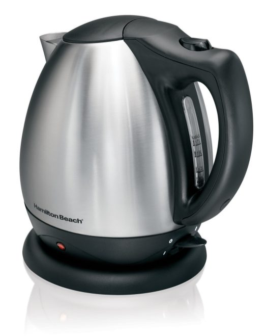 Hamilton Beach 40870 Stainless Steel 10-Cup Electric Kettle-sale