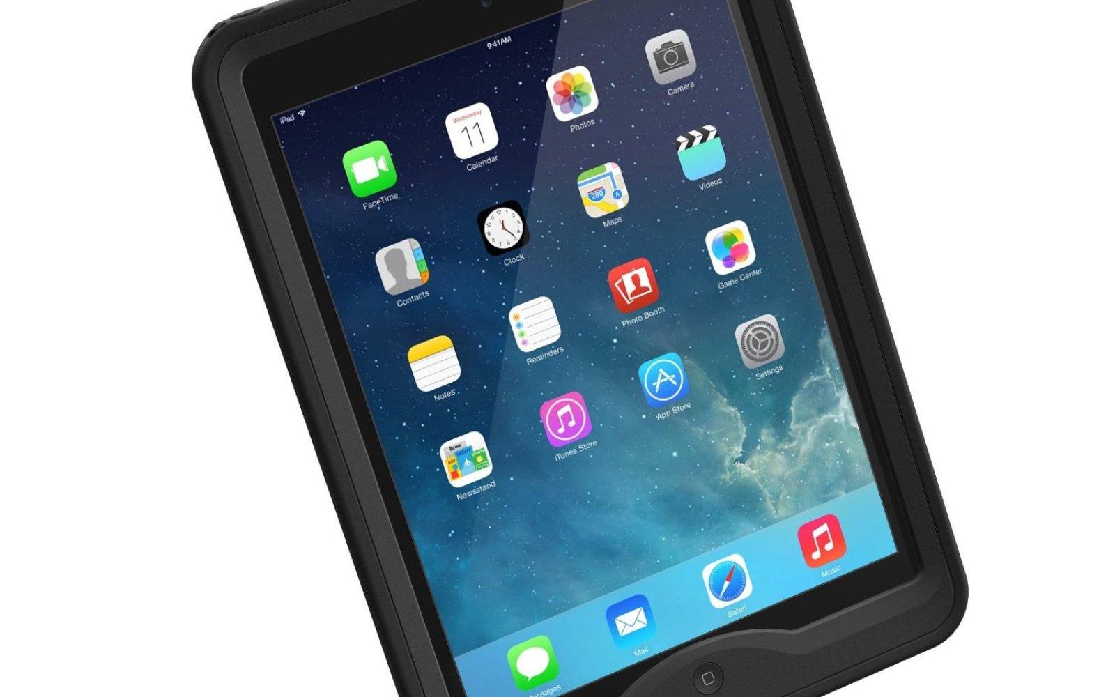 Lifeproof water/shock proof nüüd case for iPad Air $68 shipped (Reg. $130)