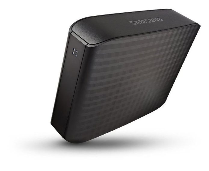 4TB Samsung D3 Station external Hard drive in black-STSHX-D401TDB-03