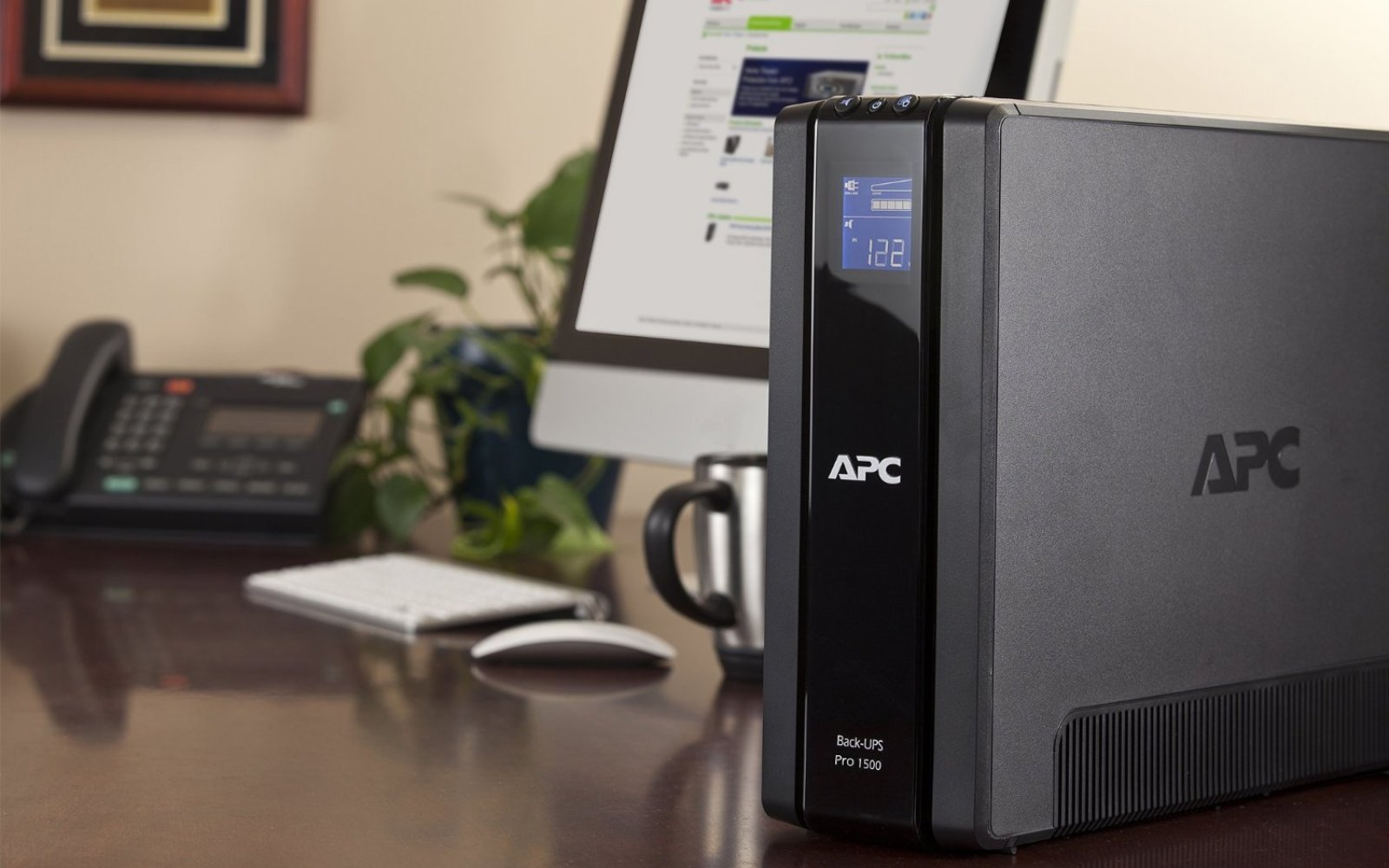 APC Power Saving Back-UPS Pro 1500VA Uninterruptible Power Supply: $150 shipped (orig. $310)