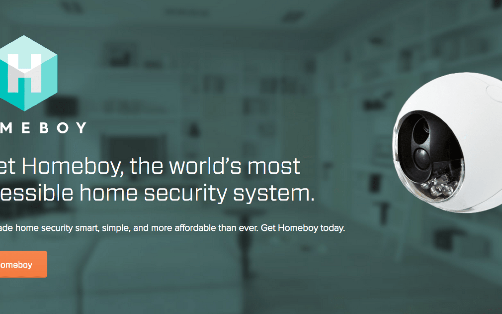 The Homeboy cam simplifies home surveillance with extended battery life and magnetic mounting