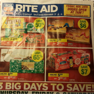 Rite Aid Black Friday 2014-ad leak