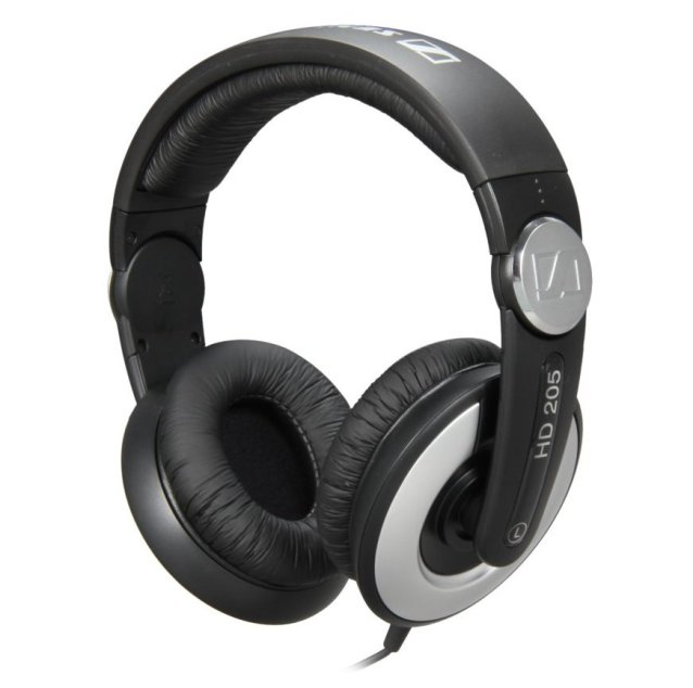 Sennheiser HD 205-II Studio Grade DJ Headphones-sale-01