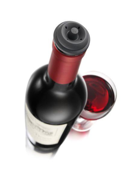 Vacu Vin 981460 Wine Saver Vacuum Wine Pump with 2 Stoppers-sale-02