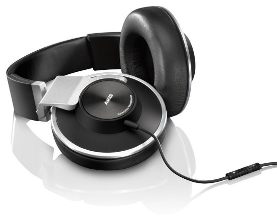 AKG Closed-Back Reference-Class Headset with In-Line Microphone and Passive Noise Reduction-sale-01