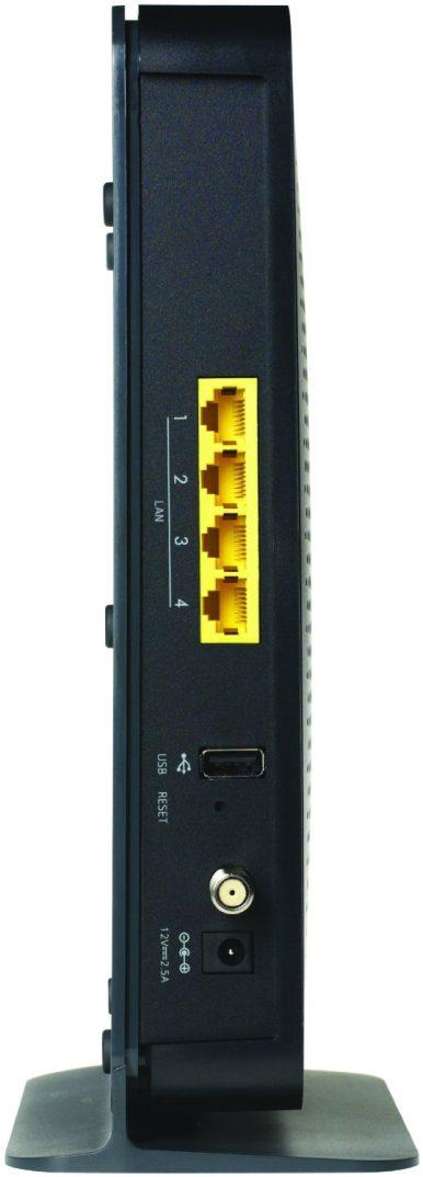 NETGEAR N450 WiFi DOCSIS 3.0 Cable Modem Router (N450-100NAS)-sale-02