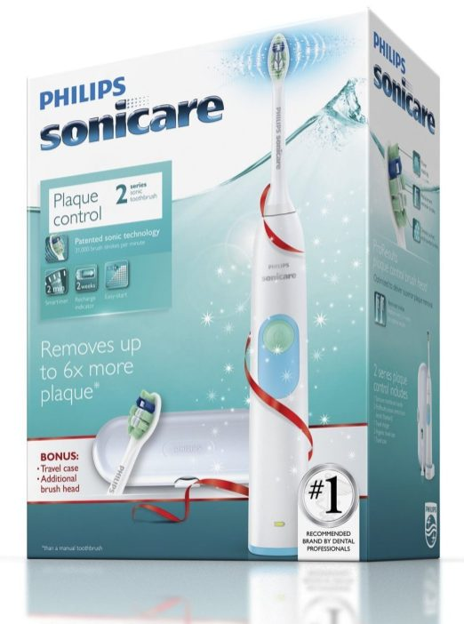 Philips Sonicare 2 Series Plaque Control Rechargeable Toothbrush, Special pack (HX6212:05)-sale-02