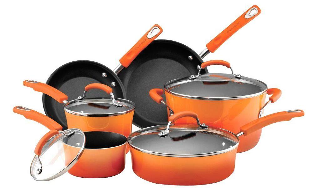 Charmant Home: Rachael Ray 10 Pc Cookware Set $100 (Reg. $140), More