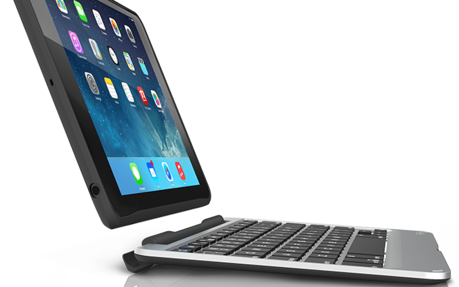 Apple Ipad Mini 16gb With Bonus Zagg Bluetooth Keyboard Case Sfb Messenger Universal 12 Inch Wireless For Android Zaggkeys Folio Air Zaggs