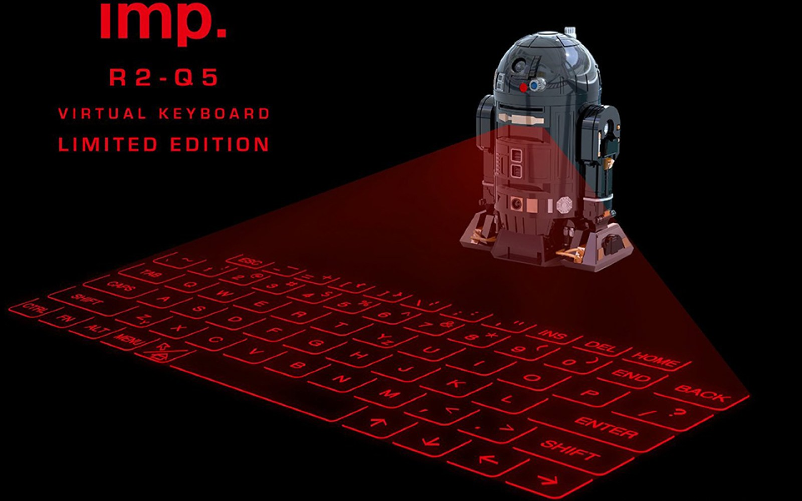 A New Hope: Japanese accessory maker announces follow-up to the wildly popular R2-D2 virtual keyboard