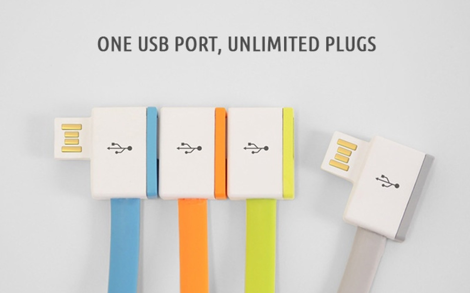 InfiniteUSB cables offer an endless supply of USB ports for your laptop