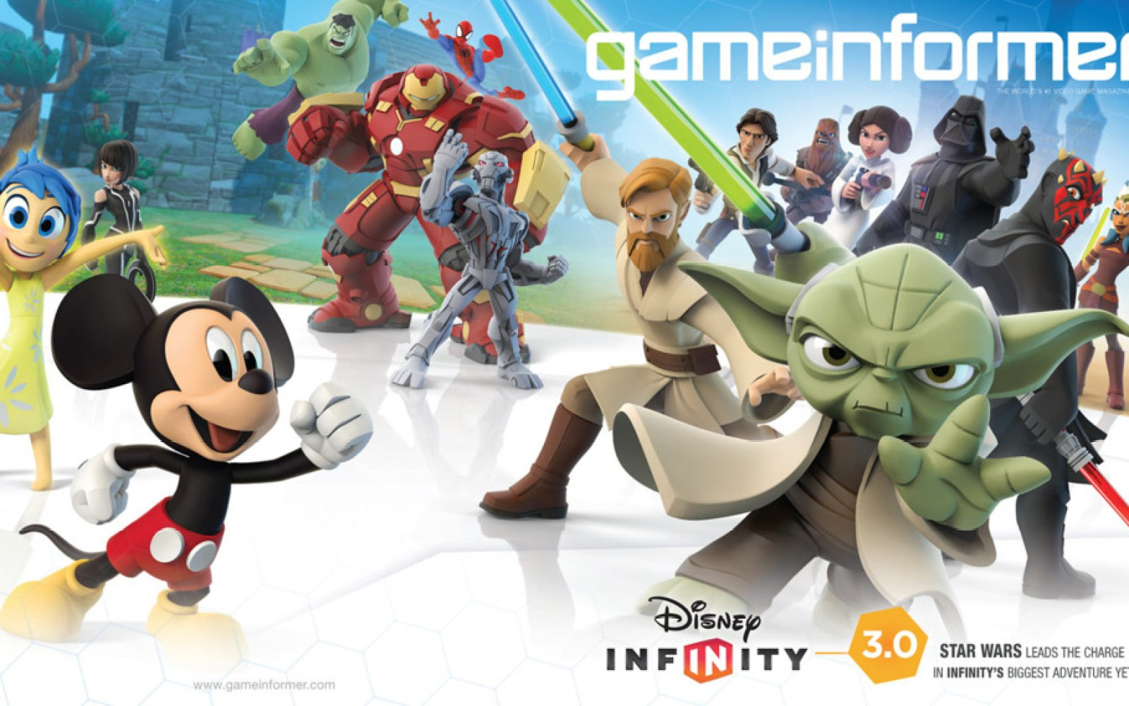 Disney Infinity 3.0 has been officially revealed with new Star Wars and Avengers Age of Ultron Play Sets