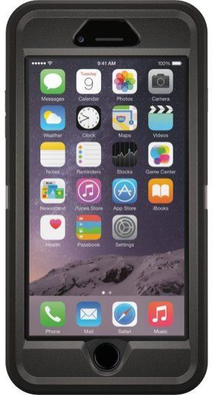 OtterBox iPhone 6 Plus Defender Series case in black-sale-01