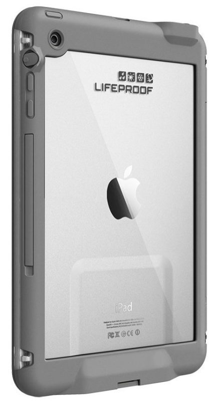 LifeProof iPad Mini Frē Case in white:gray-sale-02