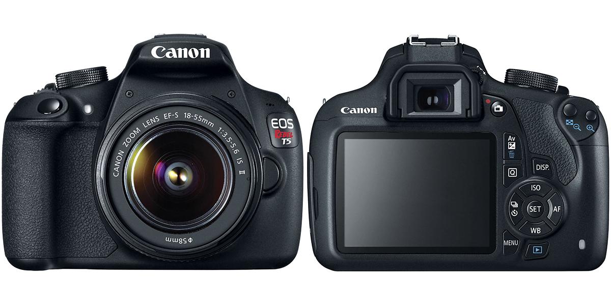 Canon's refurbished T5 DSLR w/ 18-55mm lens kit is on sale