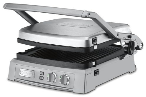 Cuisinart brushed stainless steel Griddler Deluxe (GR-150)-sale-02