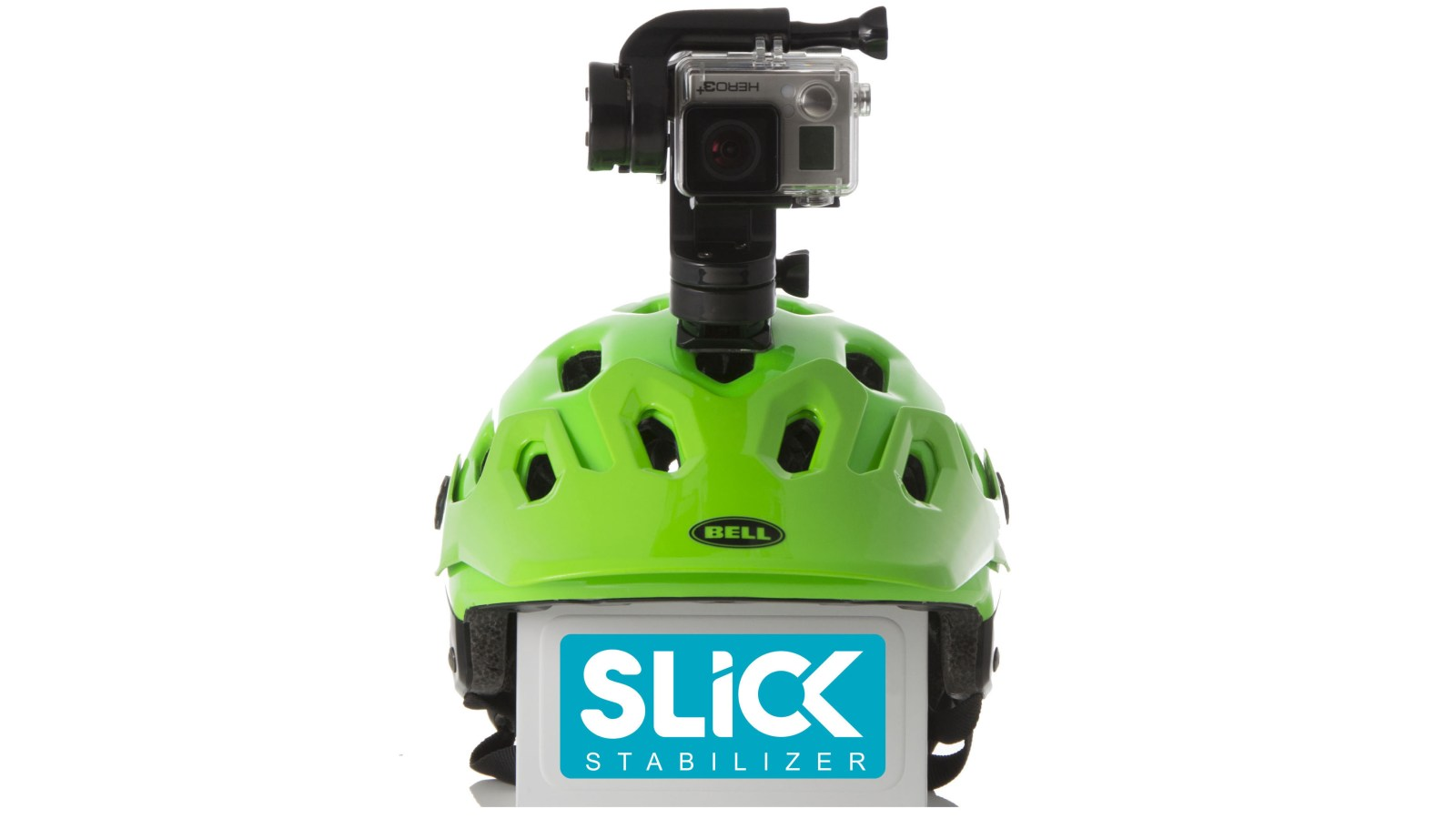 SLICK's motorized mount takes the bumps out of your GoPro videos