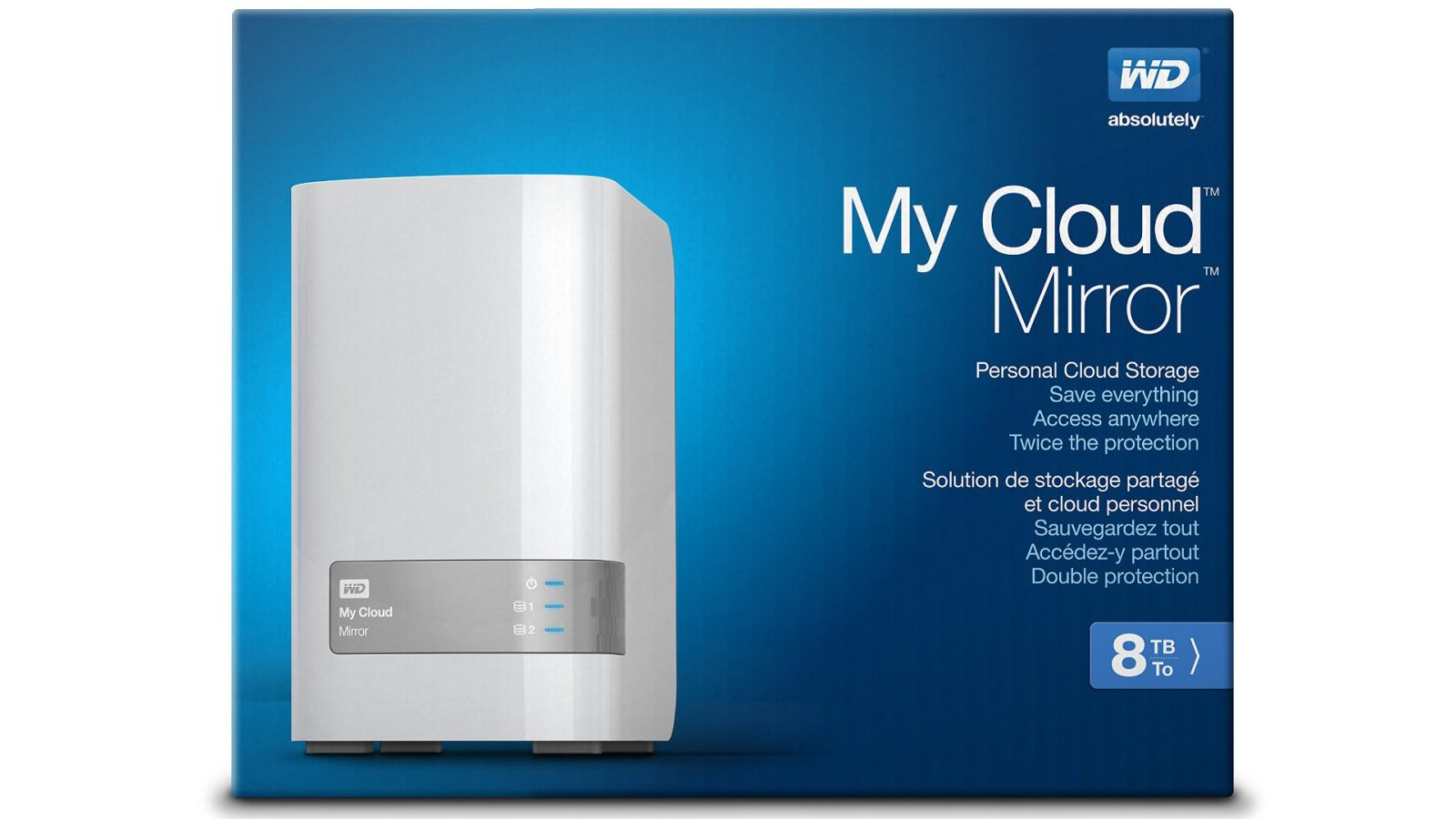 WD My Cloud Mirror 8TB 2-bay Personal Cloud Storage: $280 shipped