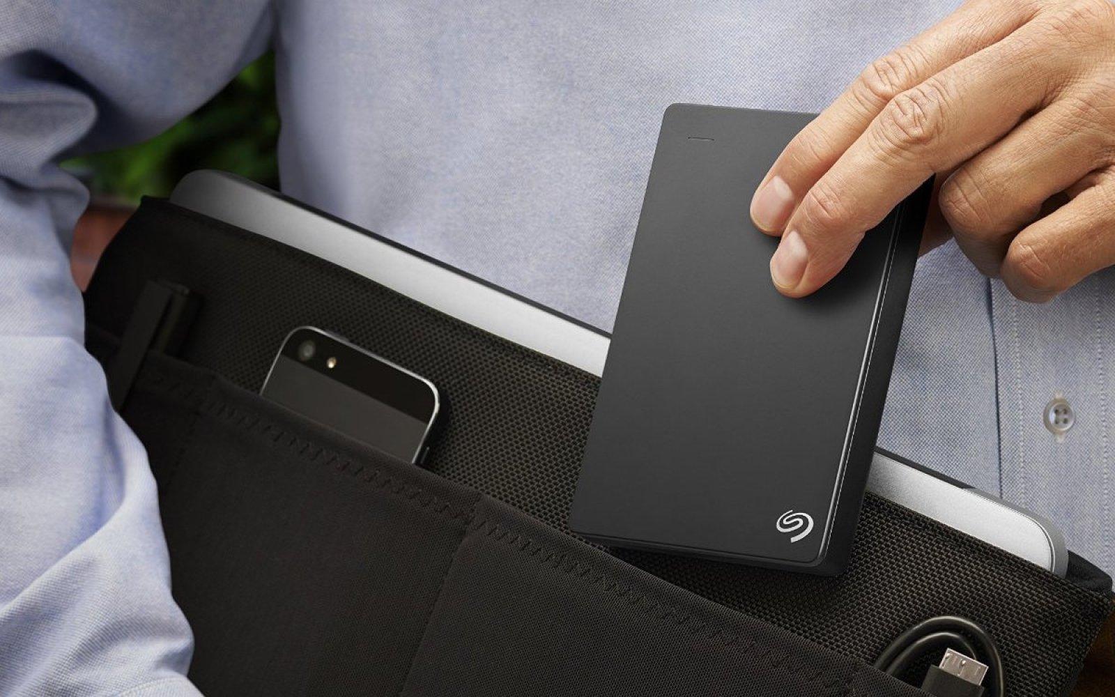 Seagate 4TB Portable, Bus-powered USB 3 Hard Drive w/ 200GB Cloud: $105 shipped