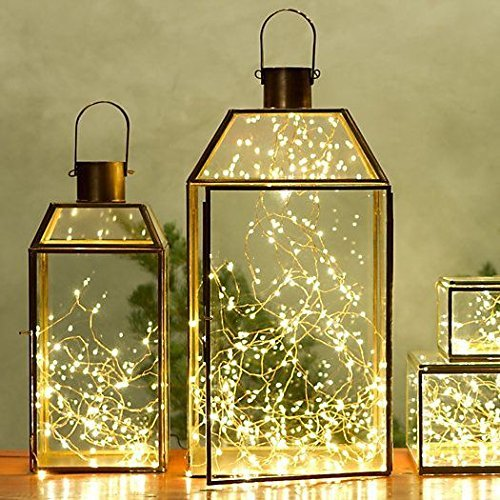 Copper Wire Starry String Light w: Timer Battery-1