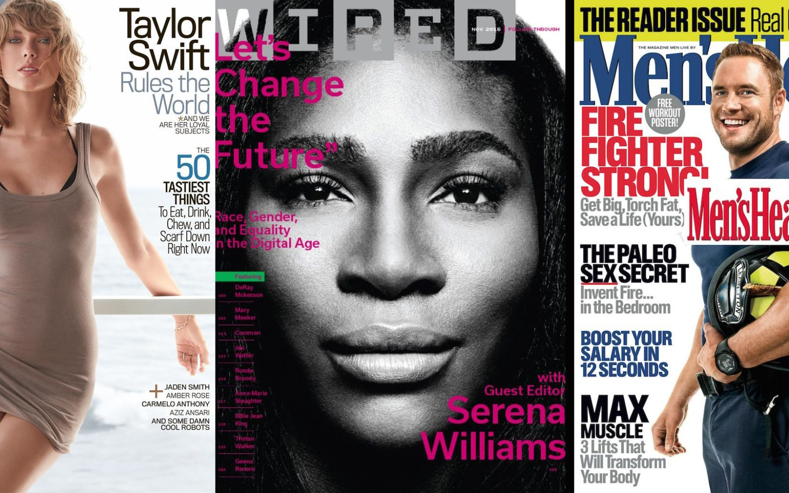 Cyber Monday magazines from $3/yr ea: Wired, GQ, ESPN, Rolling Stone ...