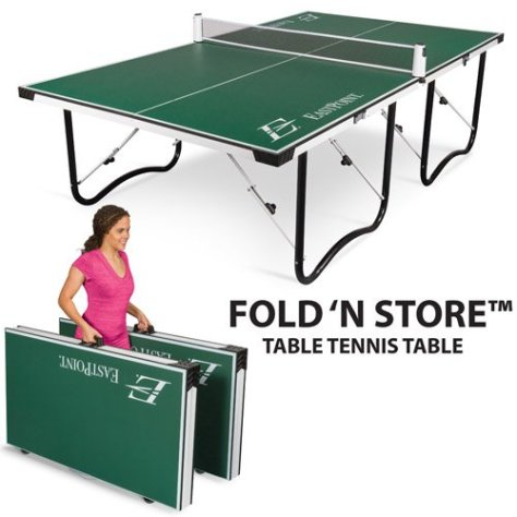 EastPoint Fold 'N Store Table Tennis Table-sale-01