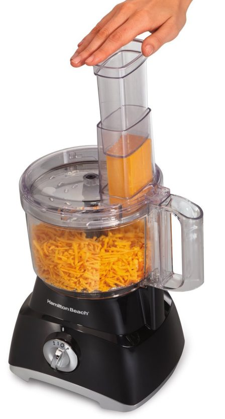 Hamilton Beach 8-Cup Food Processor in black (70740)-sale-02