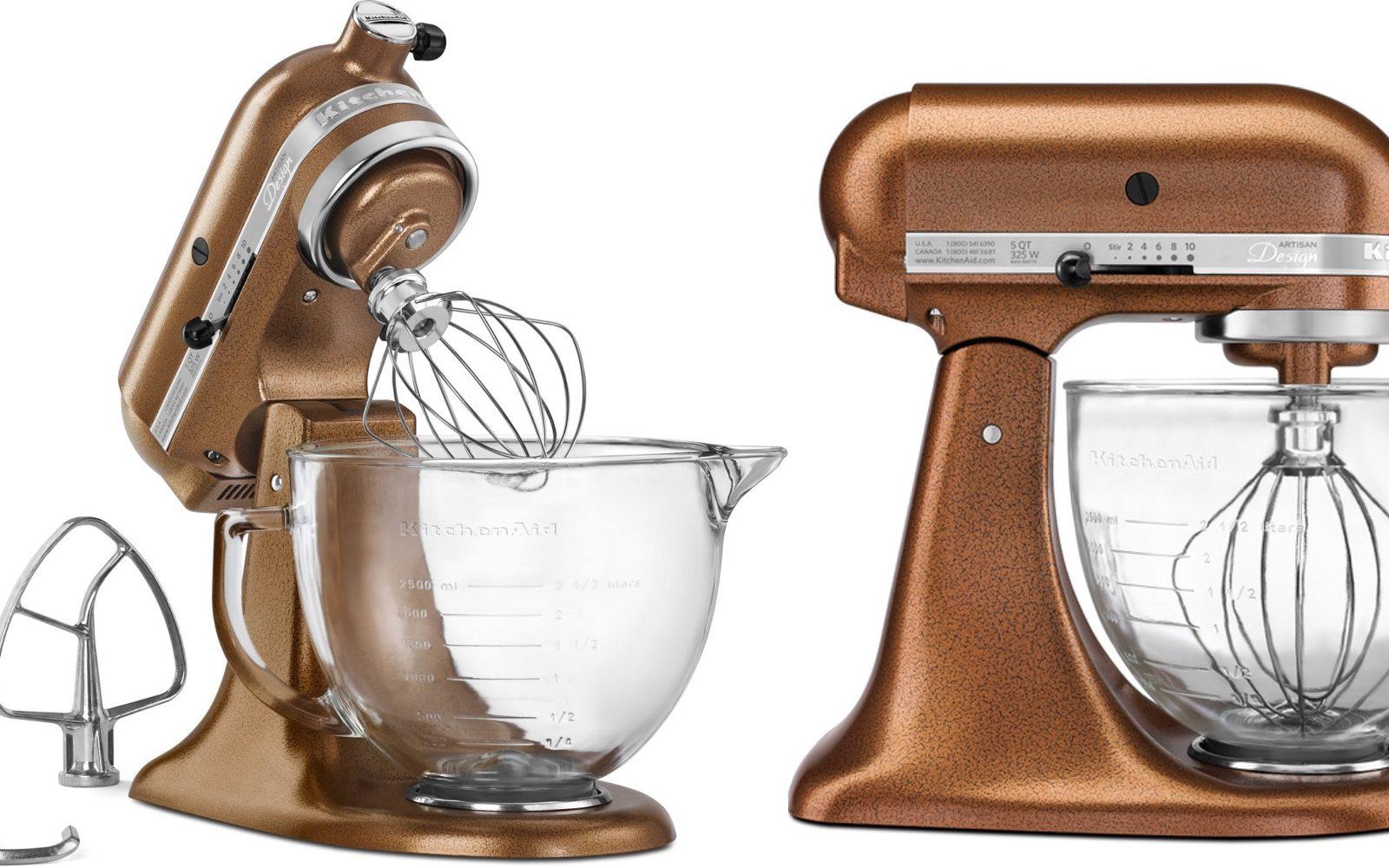 Home: KitchenAid Copper 5-Qt Stand mixer $199 (Orig. $400 ...