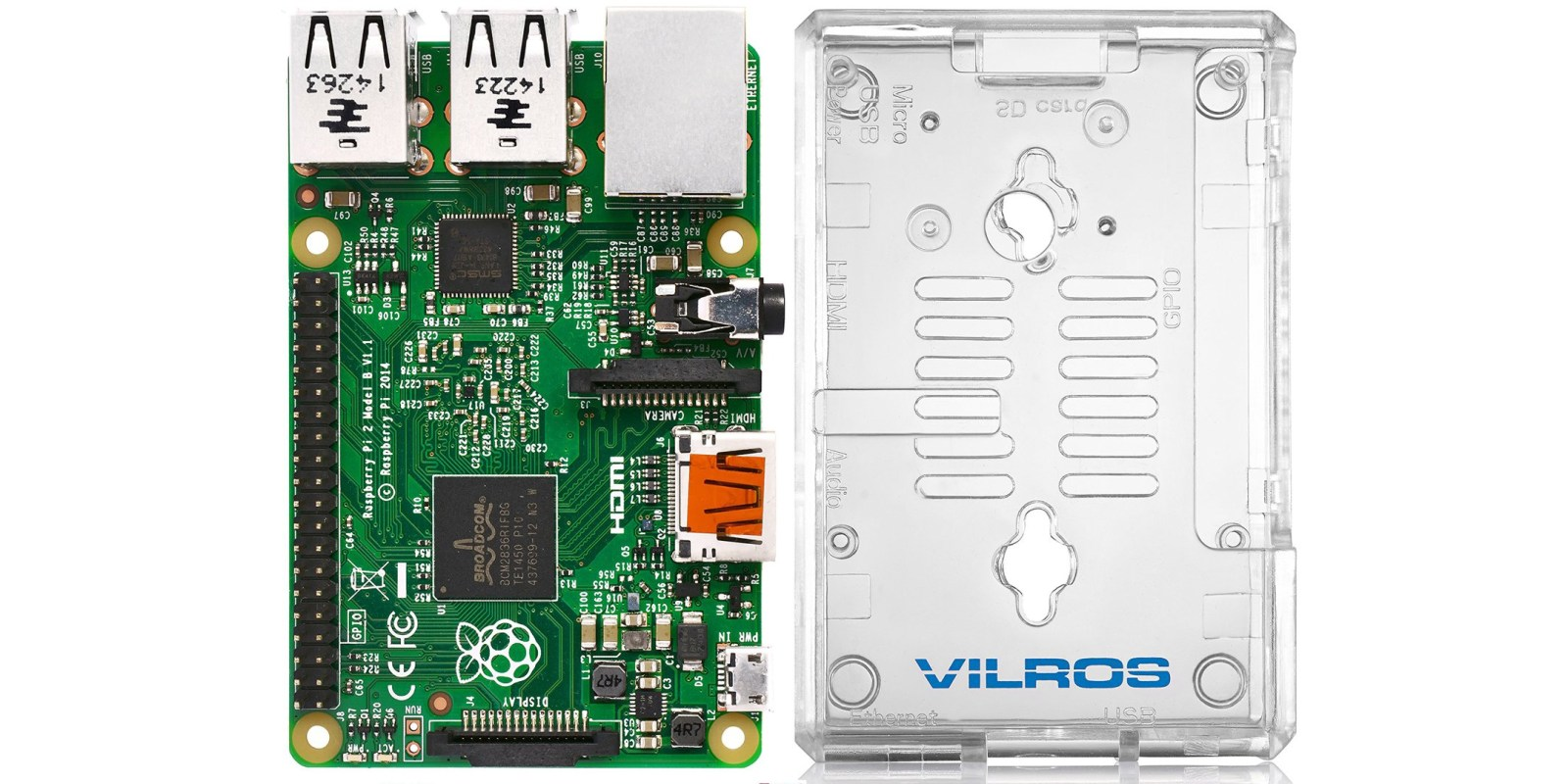 Get a Raspberry Pi 2 Model B w/ a clear case for $34 Prime shipped ($49 value)