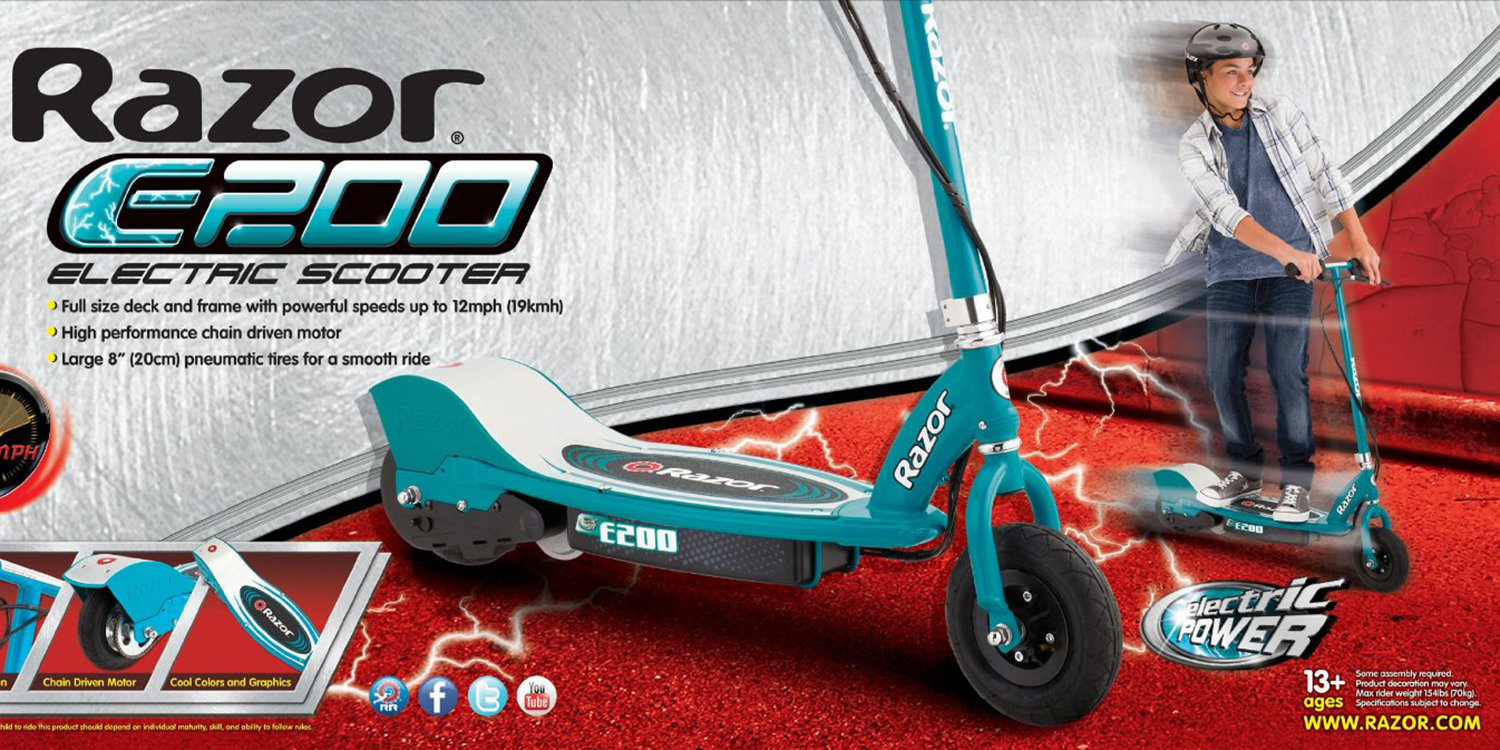 Razor E200 Electric Scooter Toys R Us