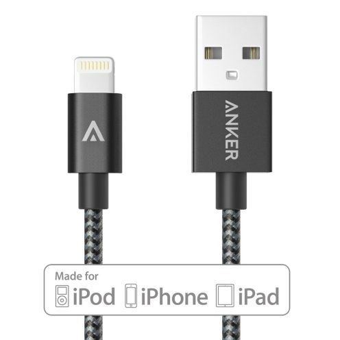 Anker nylon lightning cable Space Gray
