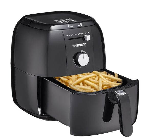 Chefman Express Air Fryer in Black (RJ38)-1