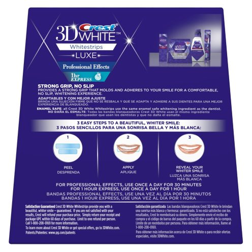 Crest 3D White Luxe Whitestrips Professional Effects-2