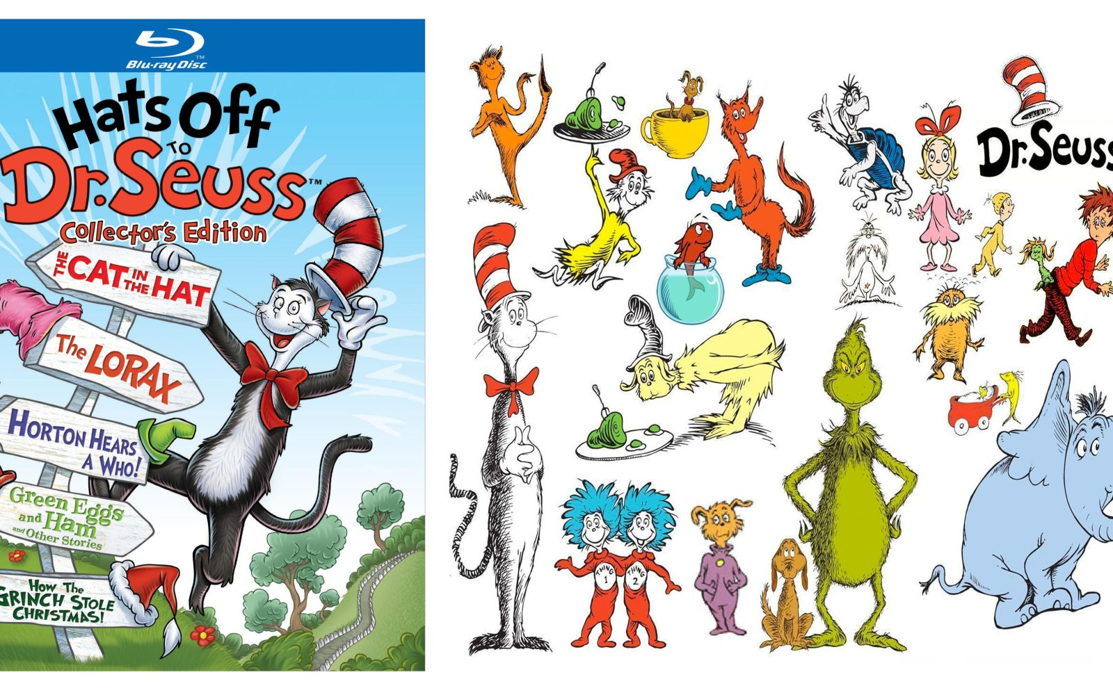 cafd549d Media: Hats Off to Dr. Seuss Collector's Edition from $15 Prime shipped,  Zootopia + Batman v. Superman pre-order deals, more