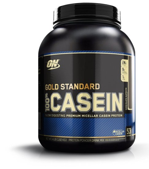 Optimum Nutrition 100% Casein Protein Chocolate Supreme