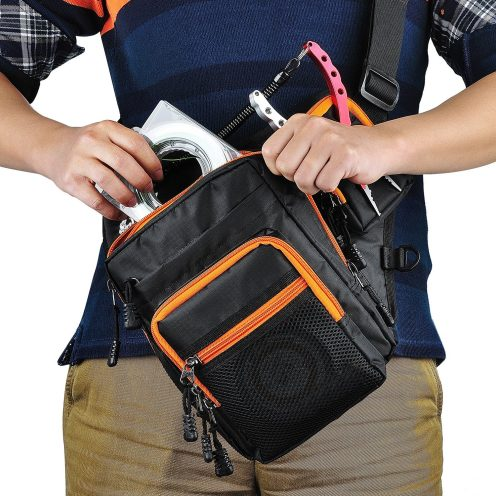 Outdoor Sports Hiking:Fishing Shoulder Pack-1