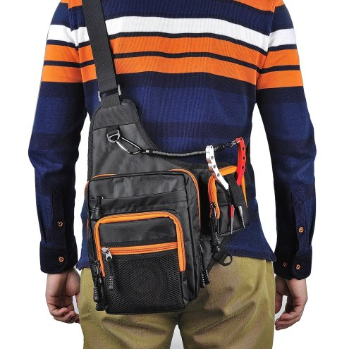 Outdoor Sports Hiking:Fishing Shoulder Pack-2