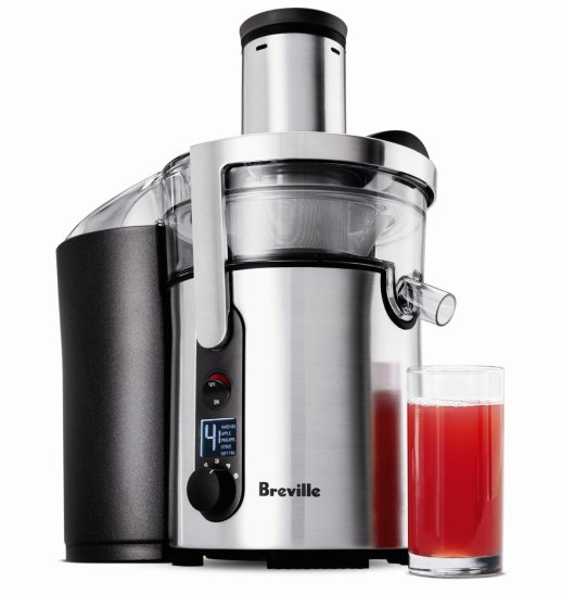 Breville Juice Fountain Multi-Speed 900-Watt Juicer (BJE510XL)Breville Juice Fountain Multi-Speed 900-Watt Juicer (BJE510XL)-2