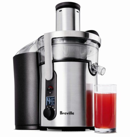 Breville Juice Fountain Multi-Speed 900-Watt Juicer (BJE510XL)Breville Juice Fountain Multi-Speed 900-Watt Juicer (BJE510XL)-2